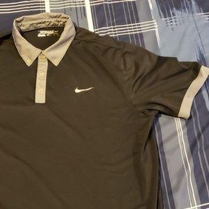 Nike Golf Tour Performance Dri Fit Black Size XL